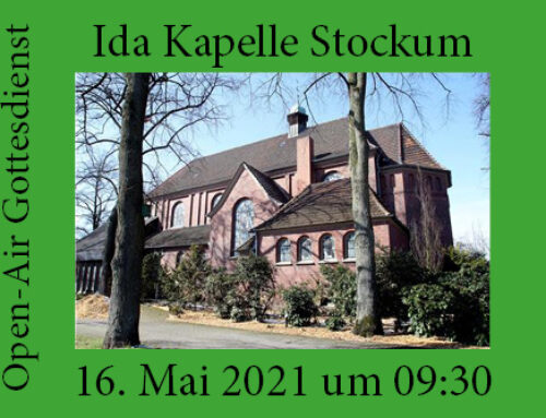 Open-Air Gottesdienst an der Ida Kapelle in Stockum